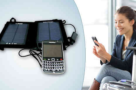 Wesco Electrical - Travel Solar Charger - Save 27%