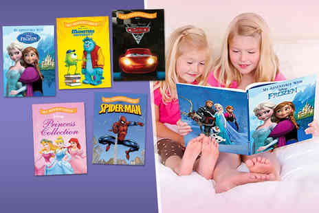 Identity Direct - Personalised soft cover adventure story book in a choice of 5 titles - Save 33%