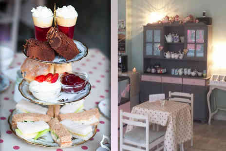 Vintage Powder Rooms - Vintage themed afternoon tea for 2  - Save 50%
