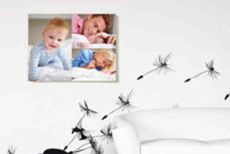 Dipinto - A Choice of Multi or Single Image Personalised Photo Canvases - Save 65%