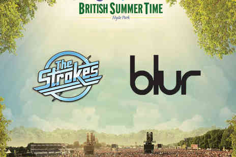 AEG Live - Bundled Tickets to The Strokes and Blur - Save 0%