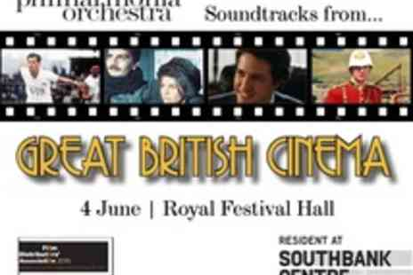 Philharmonia Orchestra - Tickets to Philharmonia at the Movies Great British Cinema - Save 25%