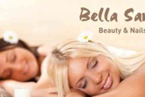 Bella Sante - Choice of One Hour Massage Plus Facial, Manicure and Pedicure For Two - Save 72%