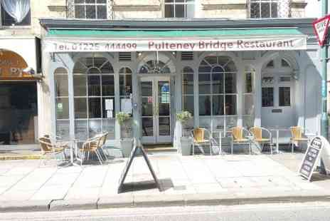 Pulteney Bridge Restaurant - Three Course Italian Meal For Two - Save 40%