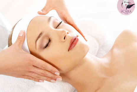 Su Cara Hair & Beauty Lounge - Nu Skin Galvanic Spa Facial and Microdermabrasion Shellac Manicure or Pedicure  - Save 65%