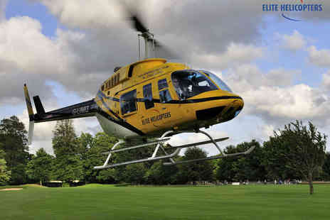 Elite Helicopter Flights - Bronze, Helicopter Experience - Save 31%