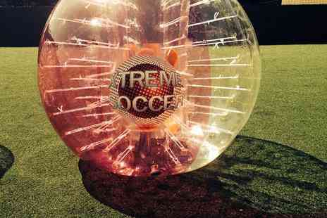 Xtreme Soccer - Zorb Football Game For Up to 15  - Save 67%
