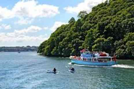 Fal River Cornwall - Truro and Falmouth river cruise for two - Save 0%