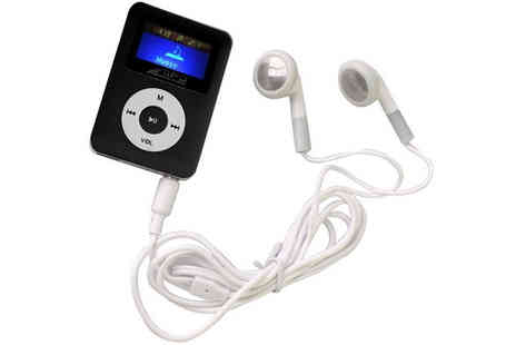 Euro Field - 8GB MP3 Player with Inbuilt Speaker and LCD Screen - Save 60%