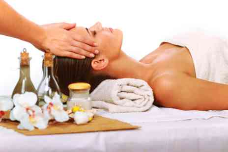 Sandra Kelly Beauty & Tanning - Indian head massage, deluxe facial, & express mani  - Save 74%
