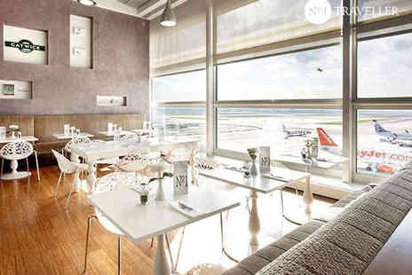 No.1 Traveller - Lounge Access Package including Food, Drink - Save 0%