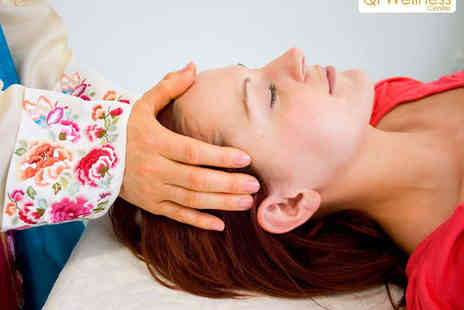 Qi Wellness - Qi Massage with Acupressure and Well Being Consultation with Qi Practitioner  - Save 60%