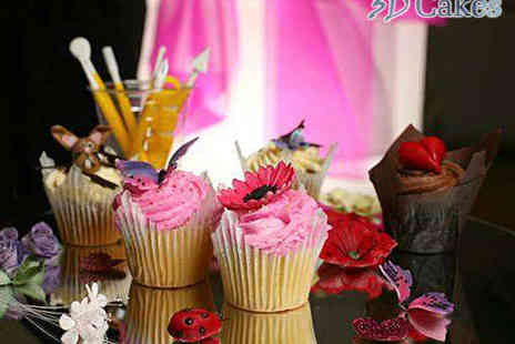 3D Cakes - Choice of 2.5 Hour Cake Decorating Masterclass - Save 74%