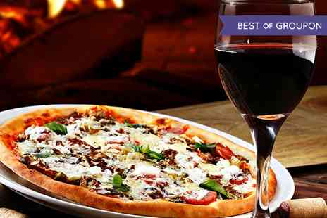 Elysium - Pizza, Pasta or Risotto With Wine For Two - Save 57%