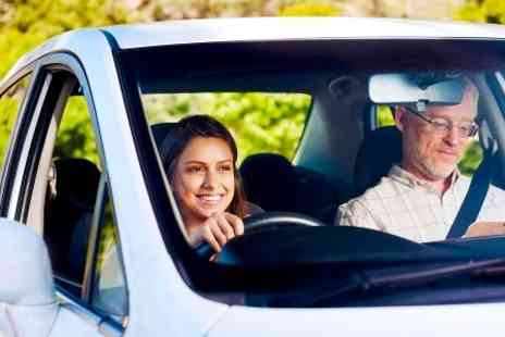 In the Right Lane - Four One Hour Driving Lessons - Save 83%