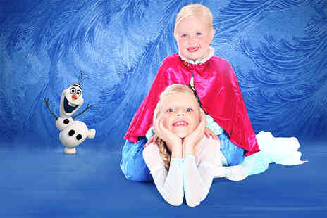 NYC Studios - Kids princesses and superheroes photoshoot for up to 2 children including 3 prints  - Save 98%