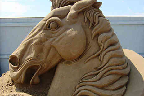 Weston Sand Sculpture Festival - Two Adult Tickets to Sculpture Festival - Save 0%