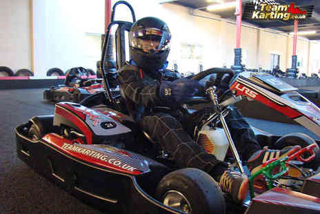 Teamkarting - 30 Minute Go Karting Session - Save 53%