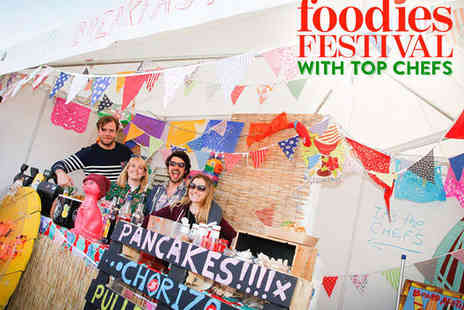 Foodies Festival - Ticket to Foodies Festival with Top Chefs - Save 54%