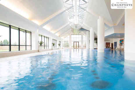 Champneys Springs - Spa Day for Two with Breakfast, Treatment, and Three Course Lunch - Save 56%