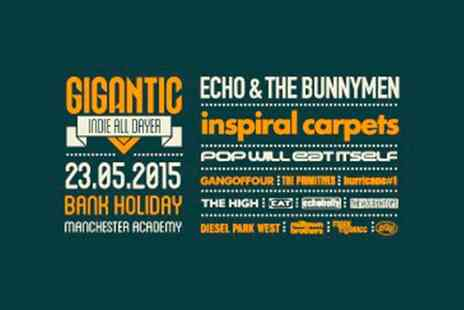 VMS Live 2011 - Gigantic Indie All Dayer Ticket - Save 0%