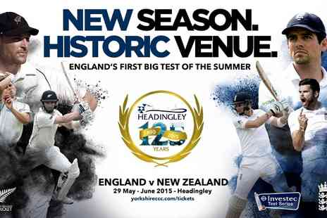 The Yorkshire County Cricket Club - England v New Zealand Second Investec Test Match - Save 0%