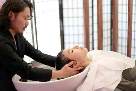 City Head Spa - Japanese Head Spa Plus Full Head of Colour - Save 70%