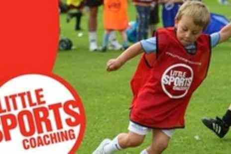 Little Sports Coaching - Six Childrens Football Classes With Kit - Save 65%