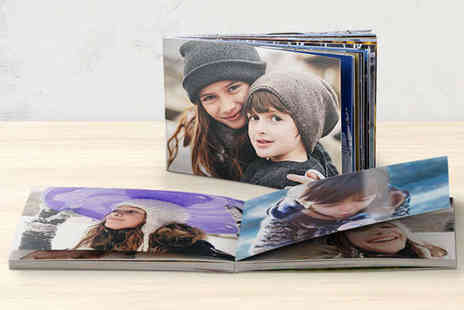 "Cherish Forever  - Snapfish by HP 6"" x 4"" Lay Flat Photo Book - Save 83%"