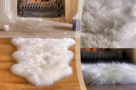 Sheepys - Large sheepskin rug   - Save 48%