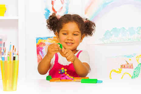 Jumping Clay Derby - One hour clay workshop for 1 child  - Save 41%