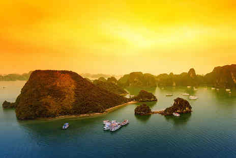 Go Asia Travel - 13 day or 12 night Vietnam and Cambodia tour with 3 Star accomodation, tours and internal flights  - Save 51%