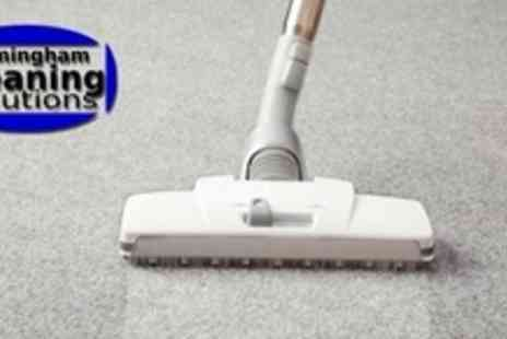 Birmingham Cleaning Solutions - Carpet Clean For Two Rooms Plus Upholstery - Save 69%