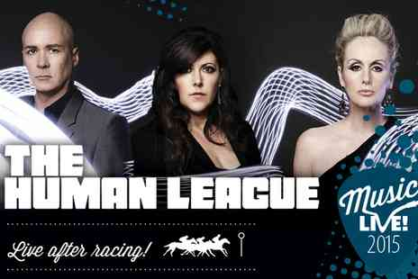 VMS Live 2011 - Ticket to The Human League Live After Racing - Save 0%