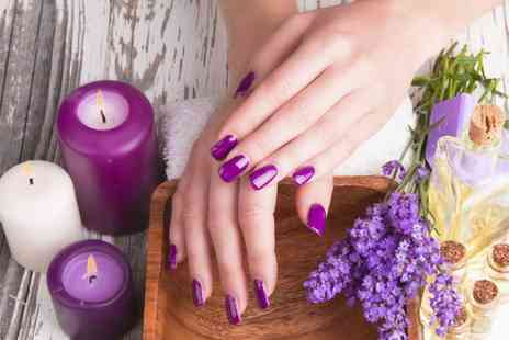 Jessica M Hairdressing - Full Set of Gel Nails For Hands or Feet  or Both  - Save 47%