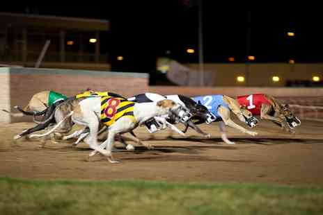 Kinsley Dogs -  Races, Food and Drink For Two  - Save 63%