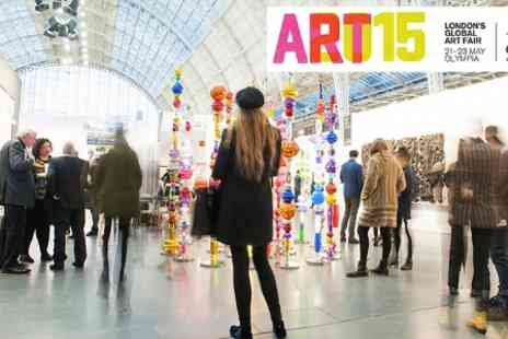 Art14 London - Two Global Art Fair Tickets to Art15   - Save 50%