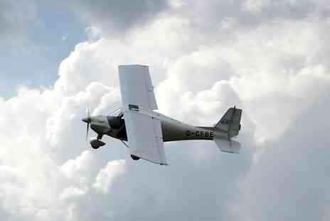 GS Aviation - One-Hour Micro Flying Lesson  - Save 51%