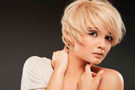 YMFab Hair - Cut, Condition and Blow Dry With Highlights or Colour - Save 60%
