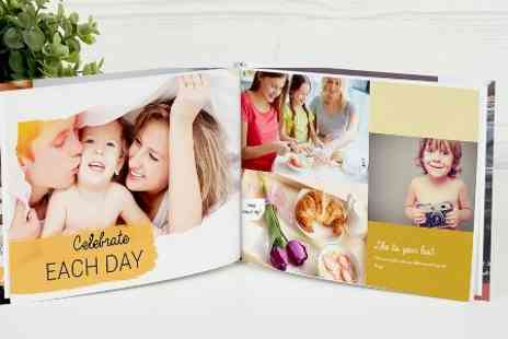 Photobook - Personalised Imagewrap Hardcover Photobook  - Save 80%