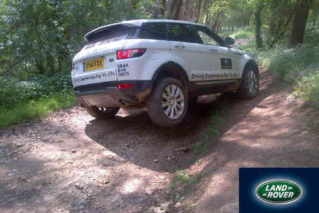 Land Rover Start Off Road - Range Rover Evoque 4x4 Driving Experience - Save 0%