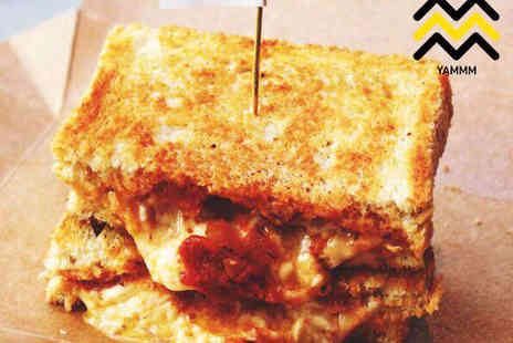 Yammm - Lunch or Dinner Toastie with Cake and a Milkshake for One  - Save 61%
