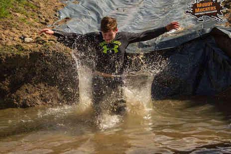 Muddy Muckers - Entry to Mud Run and Obstacle Course  for One - Save 0%