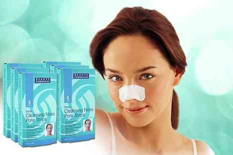 Eden Organic Care -  Pack of 36 deep cleansing nose pore strips - Save 87%