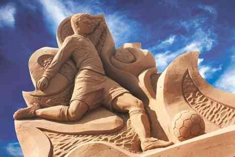 Weston Sand Sculpture Festival - Entry to Sand Sculpture Festival, Weston-Super-Mare  For Two - Save 41%