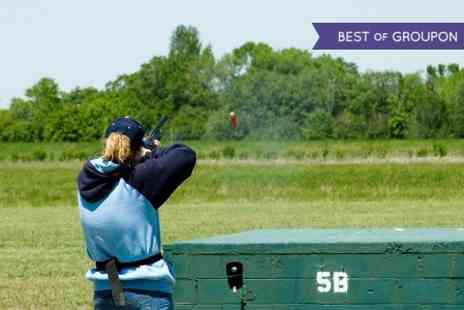Adventure 001 - Clay Pigeon Shooting With Refreshments  - Save 49%
