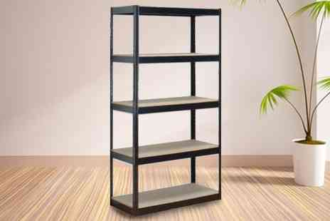 sssuperstore - Five Tier Heavy Duty Boltless Shelf Unit - Save 7%