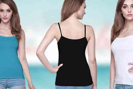 BuyBay BV - 12 Pack of Womens Singlet Tops - Save 70%