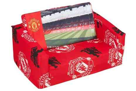 Trusleep.com - Manchester United Double Sofa for Kids - Save 0%