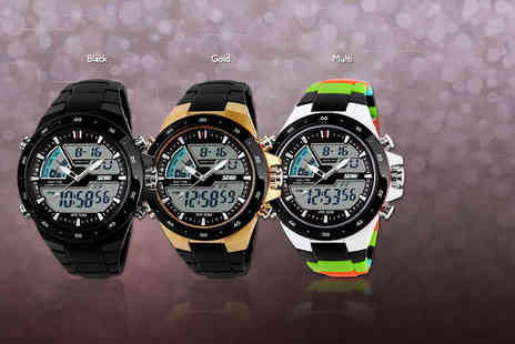 Eagle Accessories -  4 in 1 waterproof sports watch - Save 63%